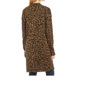 Anthropologie Sweaters - Sanctuary Lenox Leopard Print Cardigan NEW